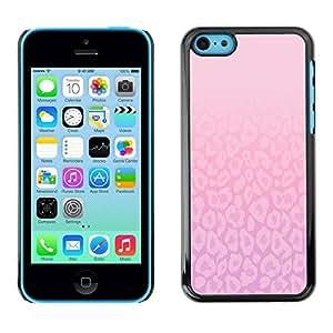 All Phone Most Case / Hard PC Metal piece Shell Slim Cover Protective Case Carcasa Funda Caso de protección para Apple Iphone 5C Pattern Pink Purple Bright Clean