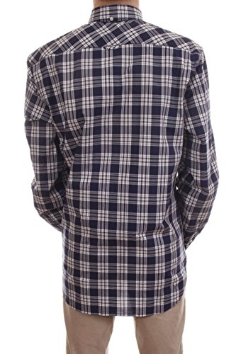 Camicia Woolrich Quadri bianco Blu A Uomo vapdwxar