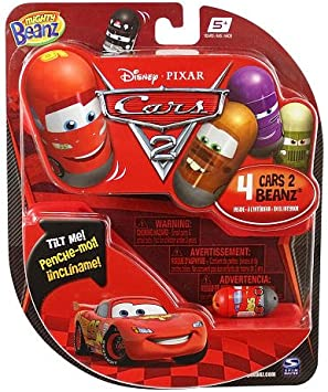 Disney Pixar Cars Mighty Beanz 4-Pack: Amazon.es: Juguetes y juegos