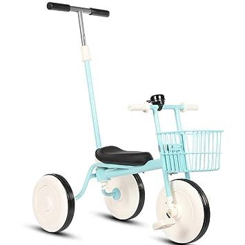 SLC Bicicleta De Triciclo para Niños De 1 A 3 Años Cochecito ...