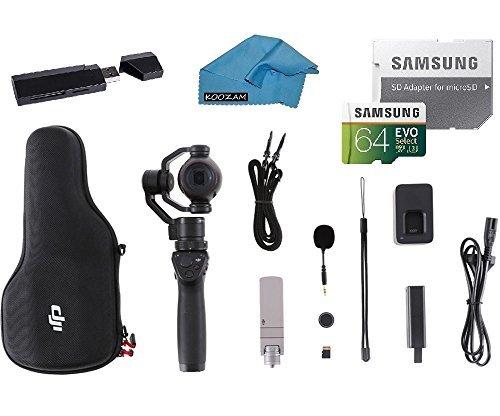 DJI OSMO Plus Camera Bundle - UHD 7x Handheld Fully Stabiliz
