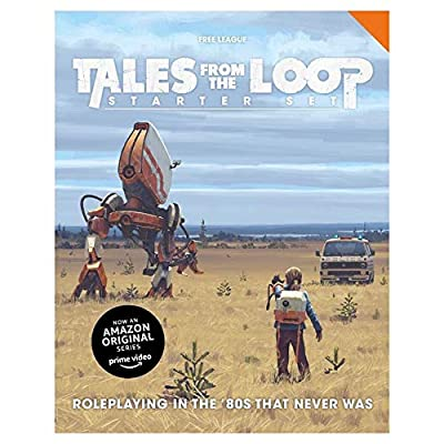 Tales from The Loop RPG Starter Set: Toys & Games