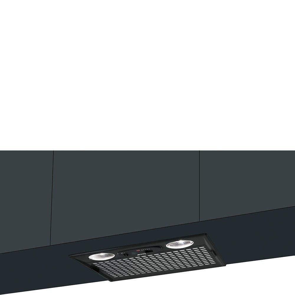 Smeg Hotte escamotable kseg51e aspirante et filtrante Noir  Amazon.fr  Gros  électroménager 3ca0ec53913c