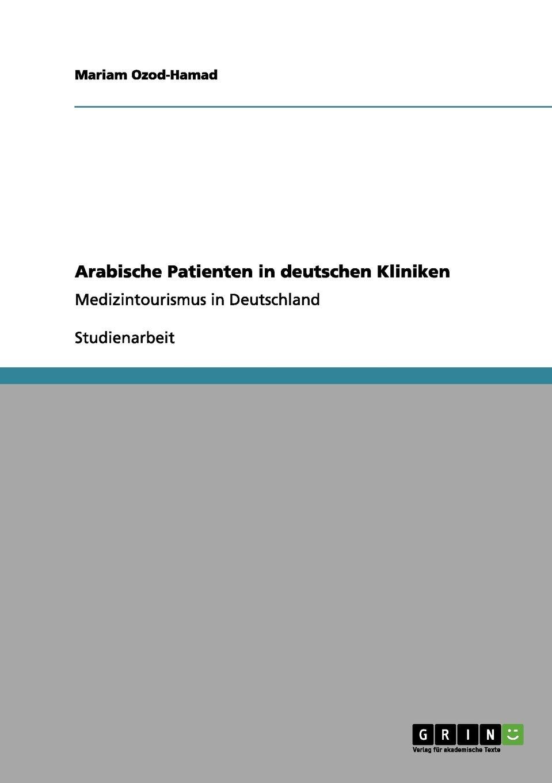 Download Arabische Patienten in deutschen Kliniken (German Edition) pdf epub