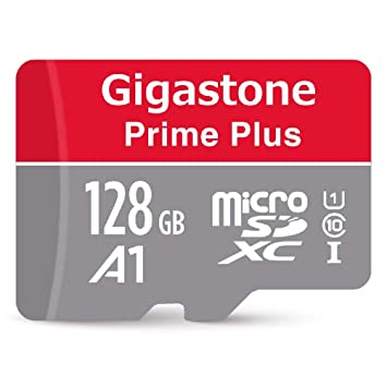 Gigastone 128GB Micro SD Card A1 V10 U1 C10 Class 10 UHS-I Micro SDXC Memory Card, MicroSD to SD Adapter High Speed Full HD Video Android Samsung ...