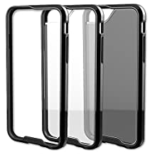 Qmadix R Series Case for iPhone 6 - Retail Packaging - Black/Clear