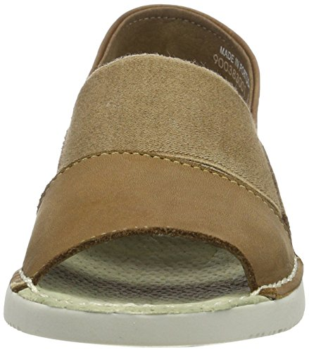 Marron Tai383sof Softinos Femme Sandales Brown Bout Ouvert xXzzAn0