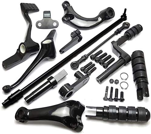 Forward Controls Complete Kit for 2014-2018 2019 2020 Sportster XL883 XL1200 Pegs Levers Linkage