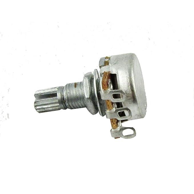 IKN 2pcs A250k L18mm Potenciómetro del tono de la guitarra del potenciómetro del mini pot del eje para la guitarra eléctrica: Amazon.es: Instrumentos ...