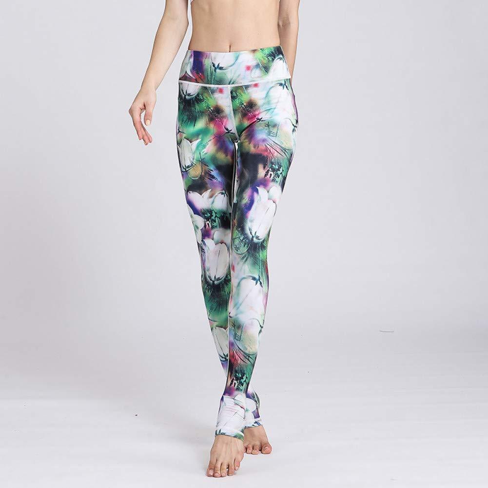 YUYOGAP Frauen Hoher Bund Yoga Hosen Stretch Leggings Laufen Sport Anzug Workout Fitness Trainingshose Sport Anzug Kleidung