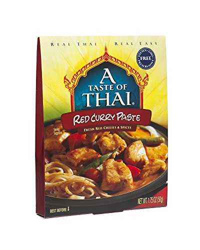 A Taste of Thai Red Curry Paste, 1.75 oz Box, 6 Piece