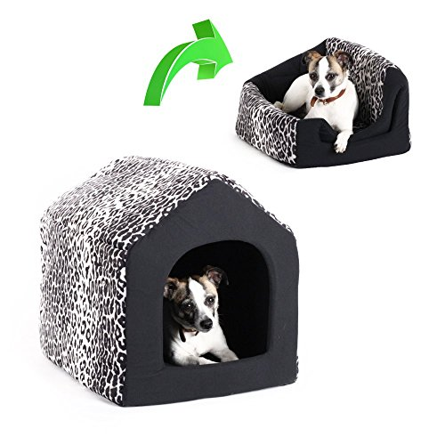 51Vls6jo0dL - Best Friends by Sheri 2-in-1 Pet House Sofa in Zoo