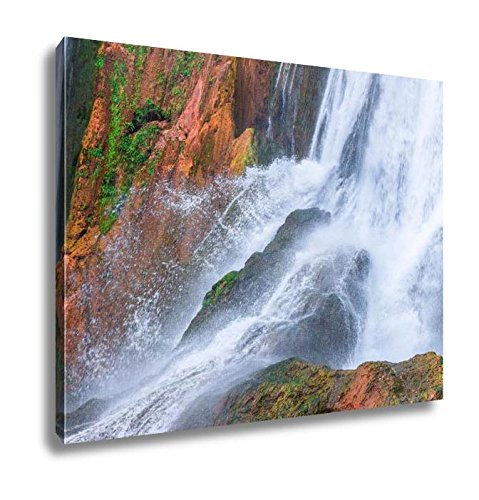 Ashley Canvas Beautiful Waterfall In Ouzoud Azilal Morocco Grand Atlas, Wall Art Home Decor, Ready to Hang, Color, 16x20, AG5603551