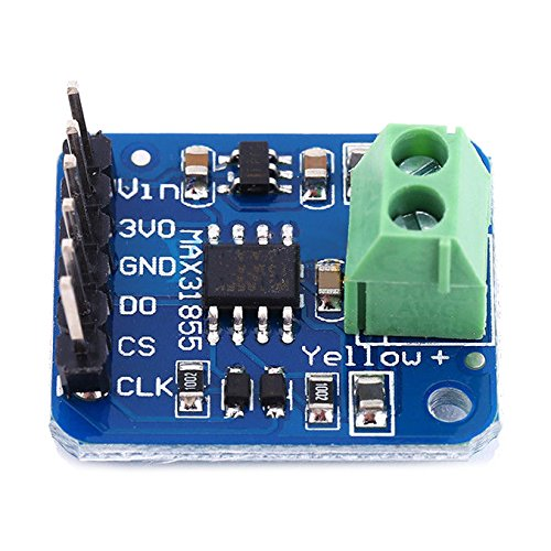 SODIAL(R) MAX31855 K Type Thermocouple Breakout Board Temperature -200 Celsius to +1350 Celsius Output