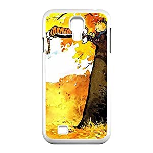 Innovation Design Calvin and Hobbes Skidproof Printed Hard Snap-On case cover for Samsung Galaxy S4 I9500 -White031304