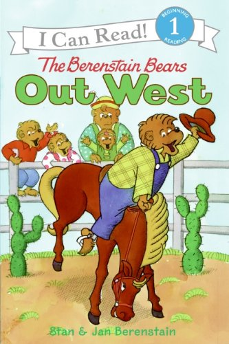 Download The Berenstain Bears Out West (I Can Read Level 1) pdf