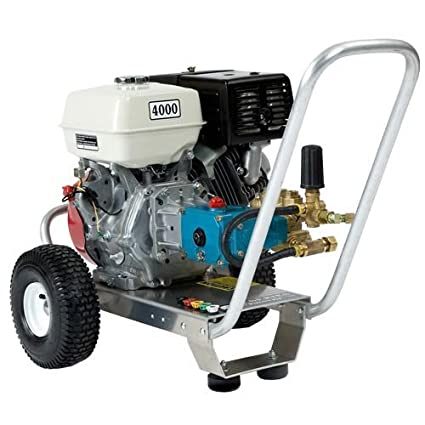 Pressure Pro E4040HC Heavy Duty Professional 4,000 PSI 4 0 GPM Honda Gas  Powered Pressure Washer With CAT Pump