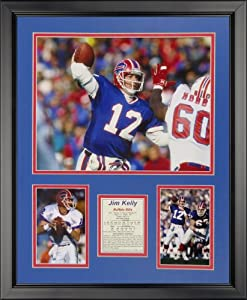 "Legends Never Die Jim Kelly - Buffalo Bills Framed Photo Collage, 16"" x 20"""
