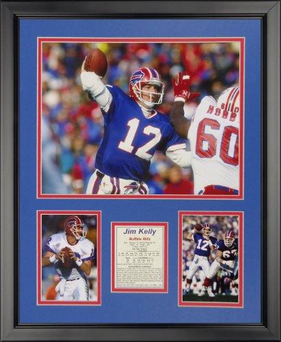 Legends Never Die Jim Kelly - Buffalo Bills Framed Photo Collage, 16