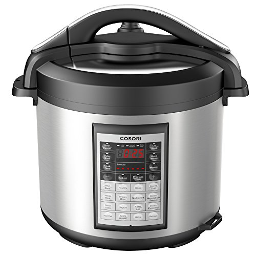 COSORI 8 Quart 8-in-1 Multi-Functional Programmable Pressure Cooker, Slow Cooker, Rice Cooker, Steamer, Sauté, Yogurt Maker, Hot Pot and Warmer, Full Accessories Included, Stainless Steel by COSORI