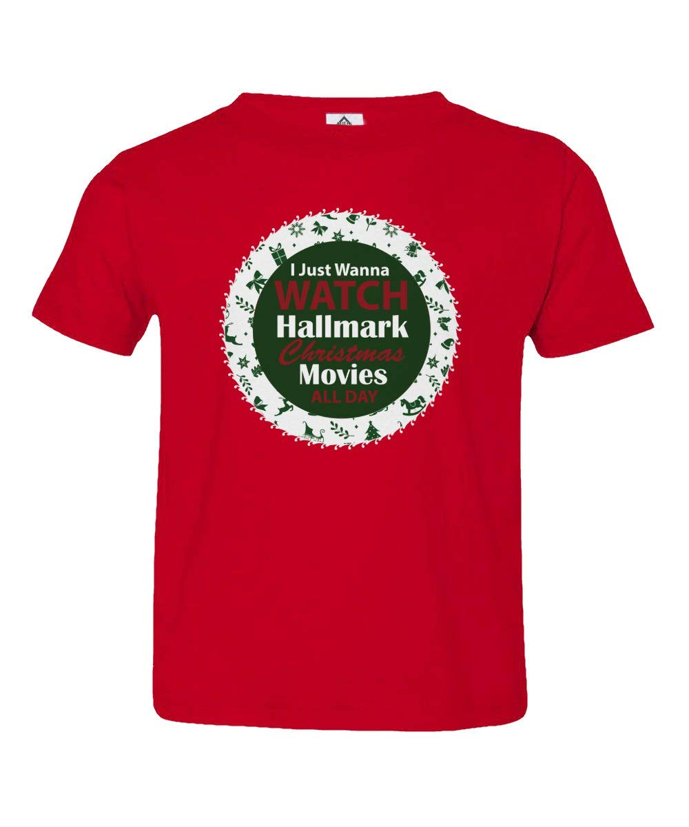I Just Wanna Watch Hallmark Christmas Movies All Day Christmas Movies Fans Little Unisex G