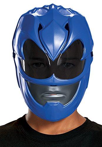 Blue Power Ranger Movie Mask, One (The Mask Movie Costume)
