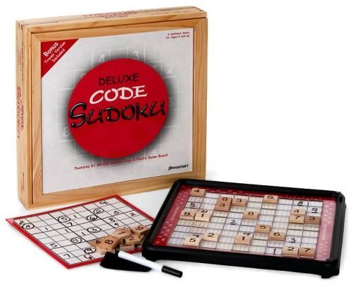 Deluxe Code Sudoku with Bonus Travel Version