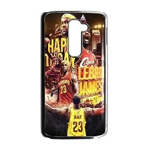 LeBron James HILDA0113894 Phone Back Case Customized Art Print Design Hard Shell Protection LG G2