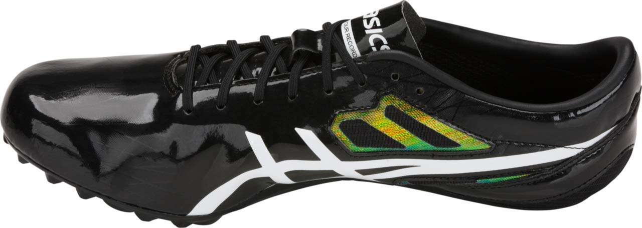 ASICS Sonicsprint Men's Track & Field Shoe, Black/White, 8.5 M US by ASICS (Image #3)