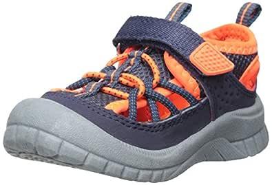 OshKosh B'Gosh Pumba Boy's Bumptoe Athletic Sandal Sport, Navy, 5 M US Toddler