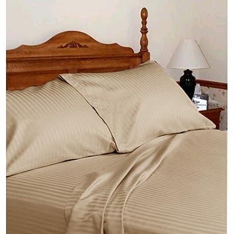Merveilleux Dreamz Bedding  250 Thread Count Egyptian Cotton Bed Sheet Set 30 Inch Extra