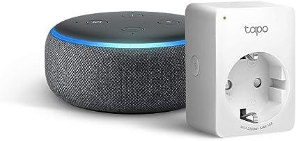 Echo Dot 3 Gen Anthrazit Stoff Tapo P100 Smarte Wlan Steckdose Funktioniert Mit Alexa Alle Produkte