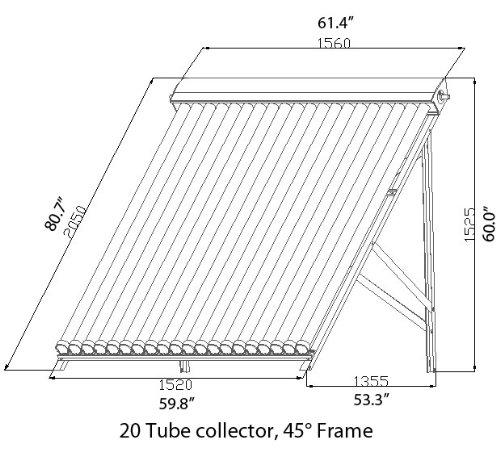 200 liter duda solar water heater active split system single coil tank evacuated vacuum tubes