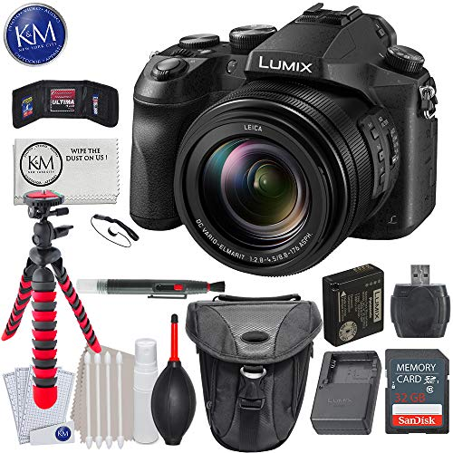 Panasonic Lumix DMC-FZ2500 Digital Camera + 32GB Card + Photo Accessory Bundle
