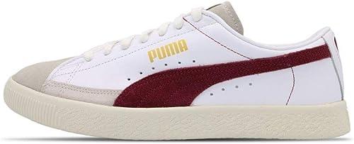 scarpe puma basket donna bordeaux