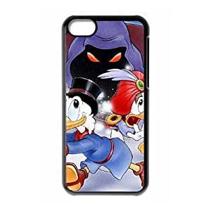 iPhone 5C Phone Case Black DuckTales The Movie - Treasure of the Lost Lamp AXF512717