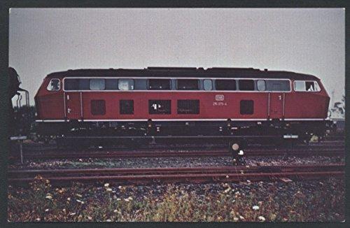 German Federal Diesel Hydraulic Locomotive 215 Engine Railroad Train - Diesel Locomotive Hydraulic