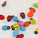 mini adding machine with tape - 100PCS/LOT Cute Ladybug Cartoon Animal Wall Sticker Fridge Magnet Decoration Fridge Sticker Kids Toy