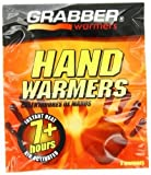 Grabber Hand Warmers - Long Lasting Safe Natural Odorless Air Activated Warmers - Up to 7 Hours of Heat - 40 Pair