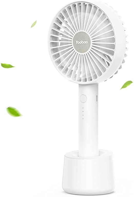 Convenient USB Mini Electric Fan Mobile Phone Bracket Electric Fan Outdoor Portable Multi-Function Charging Summer Electric Fan Durable Color : Green