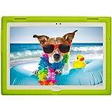 BobjGear Bobj Rugged Tablet Case for Lenovo Tab 4 10 Plus (TB-X704V, TB-X704F, TB-X704L, TB-X704Y, MotoTab TB-X704A) - BobjBounces Kid Friendly (Gotcha Green)