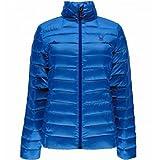 Spyder Prymo Women's Down Jacket (Large, Blue/Black)