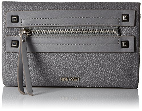 get-poppin-slgs-foldover-wallet-heather-grey-heather-grey-one-size