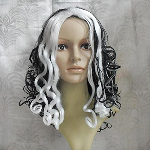 Factory direct long curly hair cheerleaders masquerade party