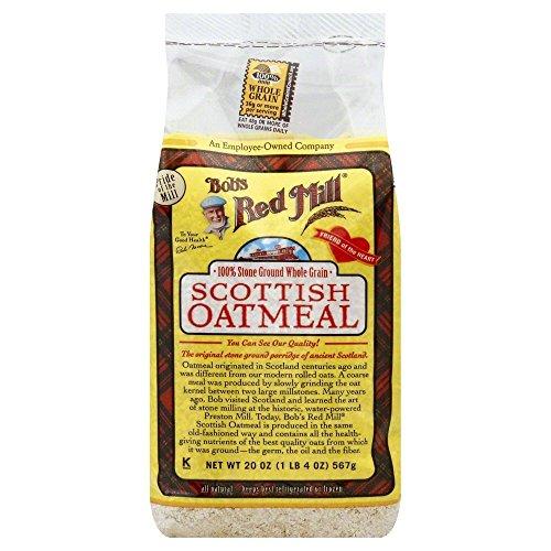 (Bob's Red Mill Scottish Oatmeal - 20 oz - 2 Pack)