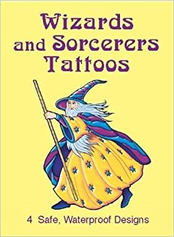 Book Wizards and Sorcerers Tattoos (Dover Tattoos)