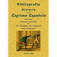 Bibliografía e historia de la esgrima española