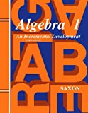 Saxon Algebra 1: Solutions Manual Third Edition 1998