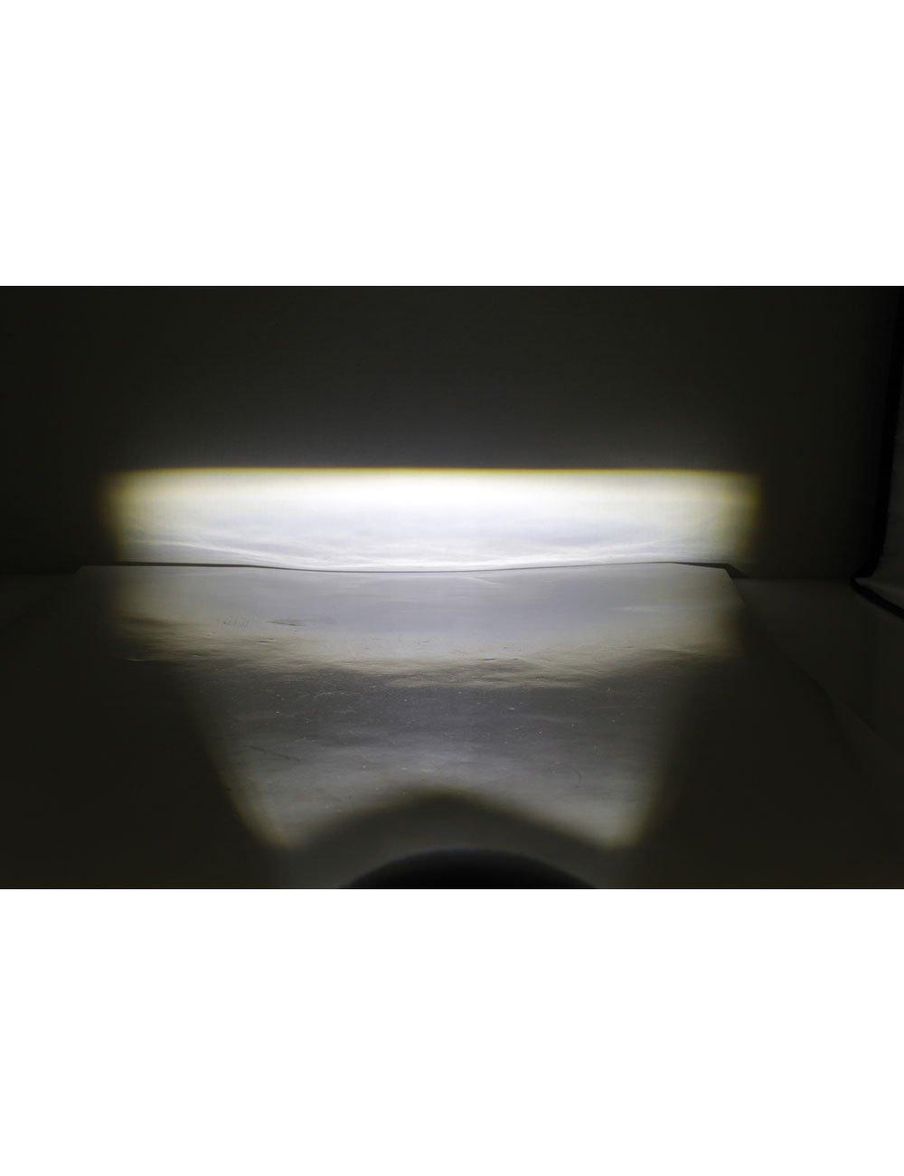 E gepr/üft HIGHSIDER Motorrad LED Abblendscheinwerfer Comet-Low