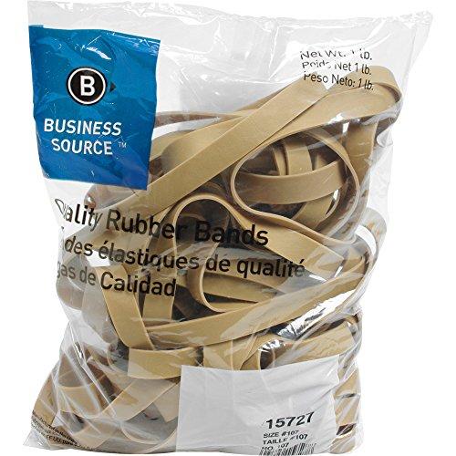Business Source Size 107 Rubber Bands - 1 lb. Bag